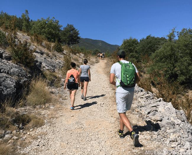Inicio de la ruta del Congost del Mont-Rebei