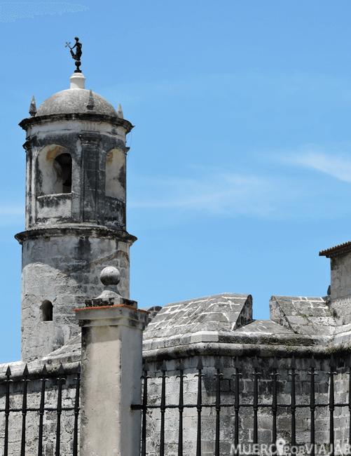 Estatua de la Giraldilla en el Castillo de la Real Fuerza de la Habana