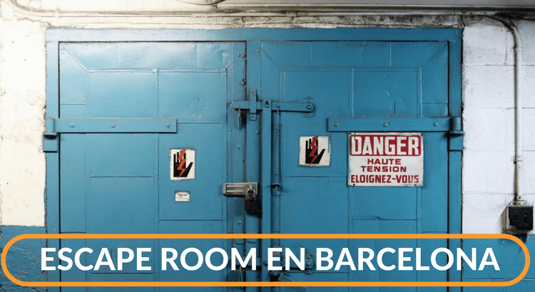 Escape Room Barcelona Maquinista