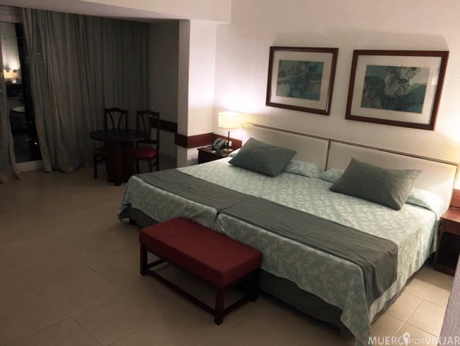 Nuestra habitación en el hotel Tryp Habana Libre