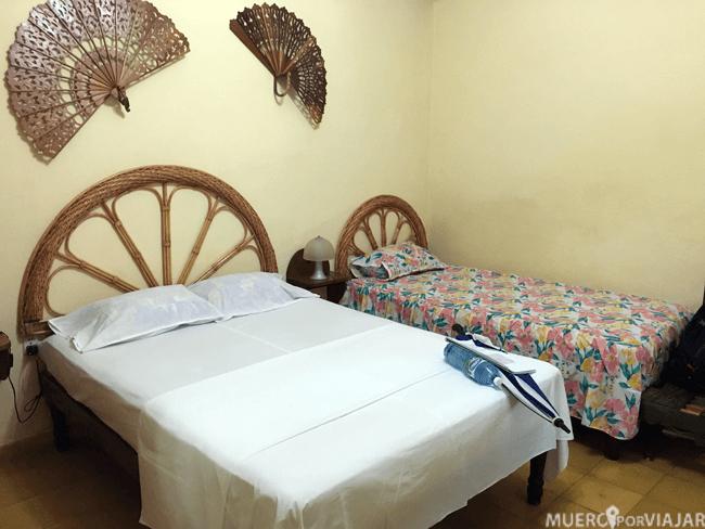Nuestra habitación en Trinidad