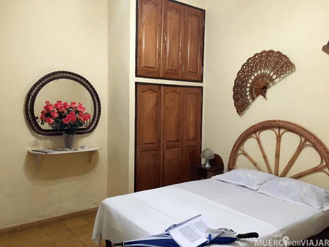 Nuestra habitación en Trinidad (Cuba)