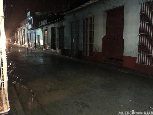 Lluvia torrencial en Trinidad - Cuba