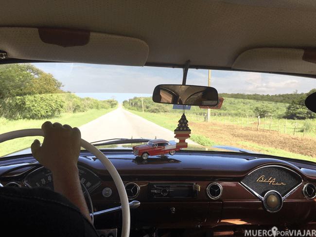 Nuestro coche en Cuba