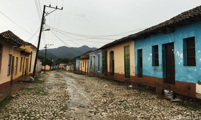 Una de las calles de Trinidad - Cuba