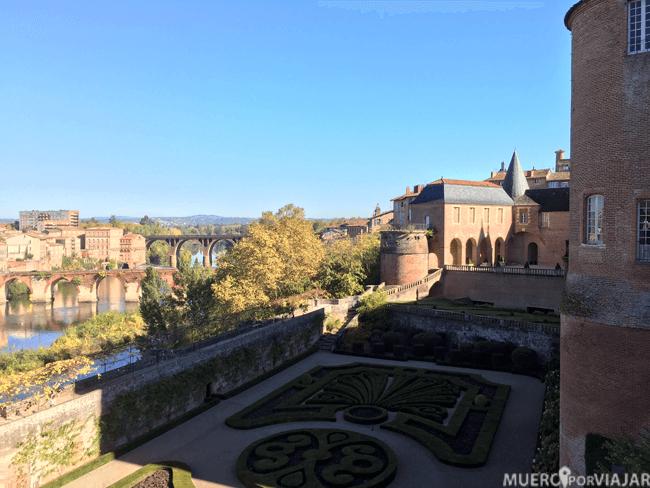 Jardines del Palacio de Berbie, Albi