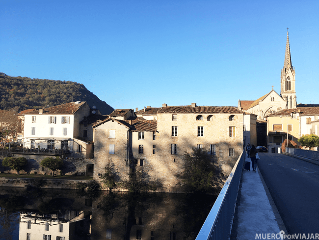Entrada del pueblo Saint-Antonin-Noble-Val