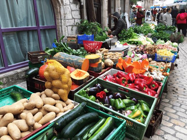 Mercado de Saint-Antonin-Noble-Val