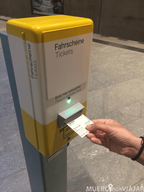Activando nuestra Berlin WelcomeCard
