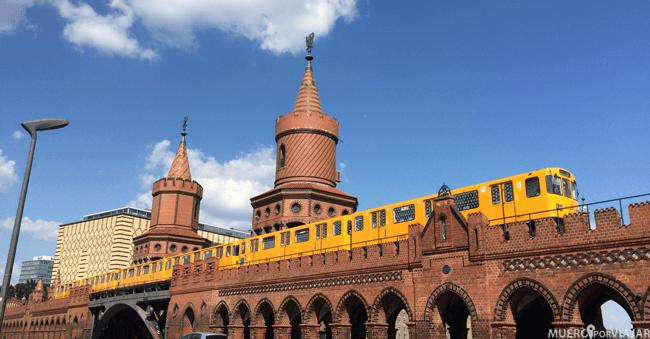 Tren en Berlín