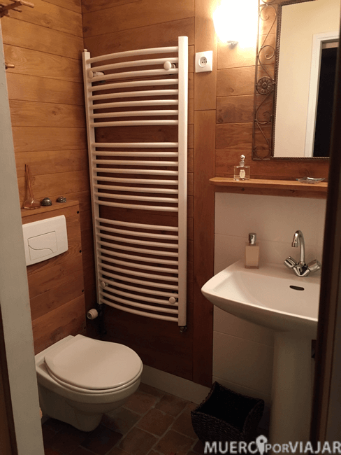 El baño de la habitación