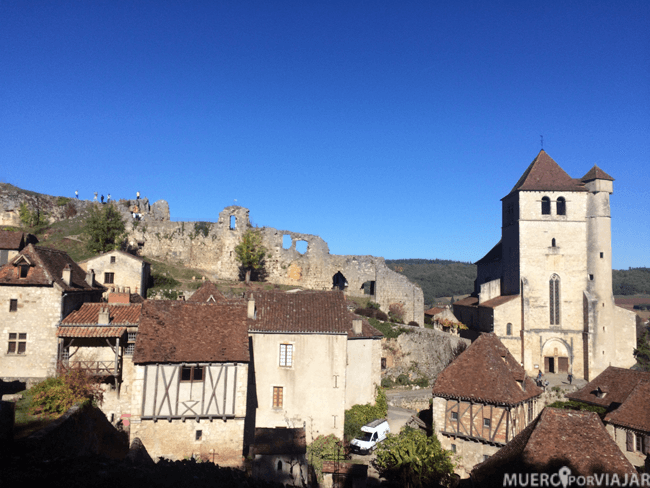 Nos acompaño un día espectacular de Sol para poder contemplar sus ruinas medievales