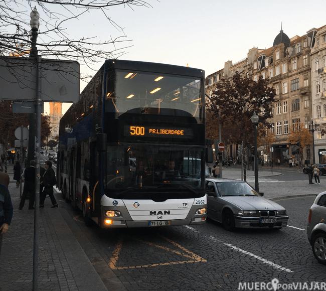 El bus de Oporto es muy moderno
