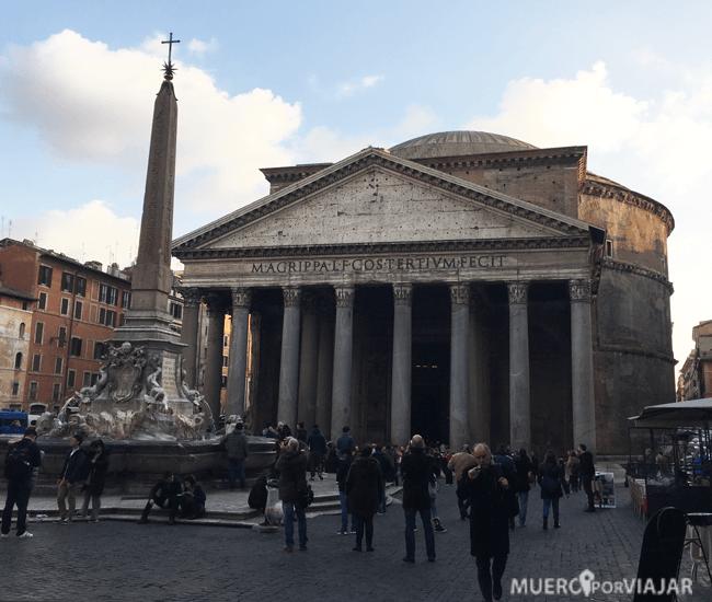 Nuestro lugar favorito de Roma, el Panteón de Agripa