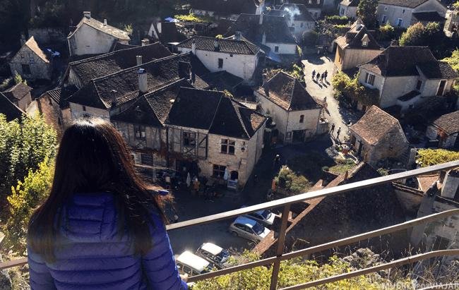 El mirador del pueblo es un lugar perfecto para admirar todas sus calles y casitas