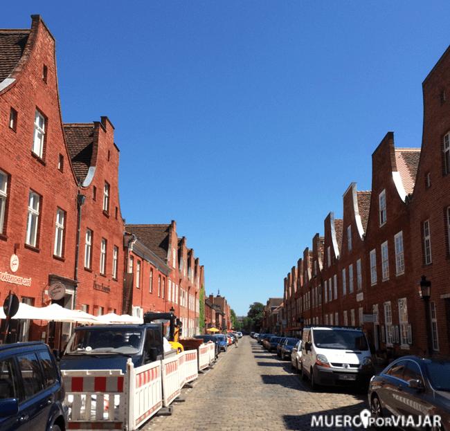 El barrio Holandés de Postdam