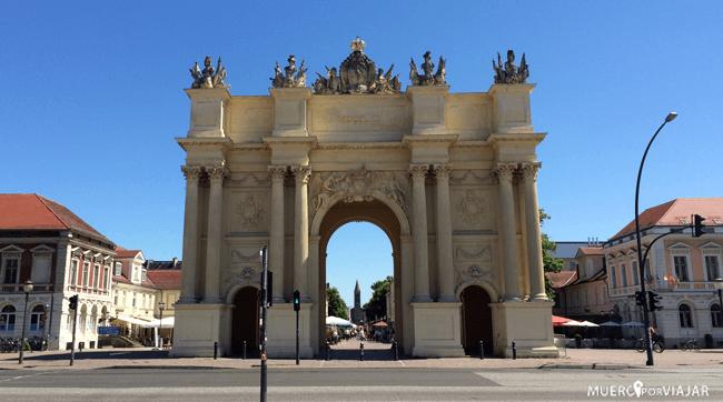 La Puerta de Brandenburgo de Potsdam