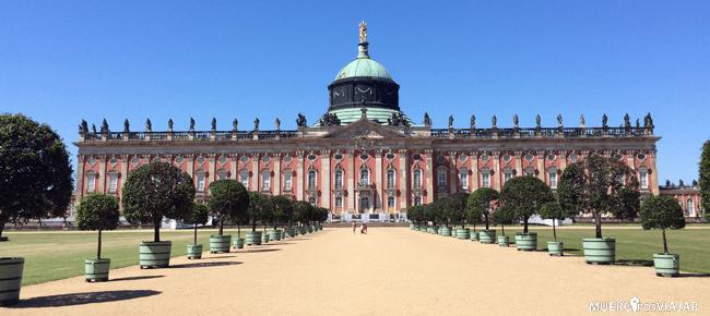 El palacio nuevo de Postdam