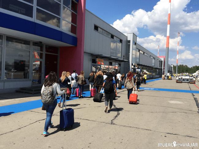 Pista de aterrizaje del aeropuerto de Schönefeld