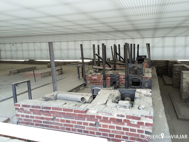 Hornos del Campo de Concentración de Sachsenhausen