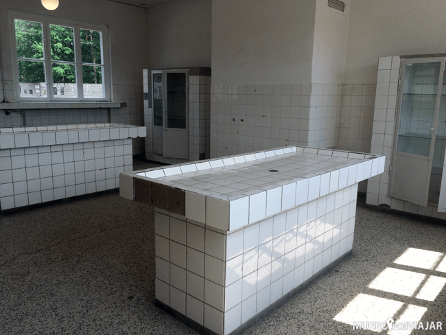 Centro médico del Campo de Concentración de Sachsenhausen