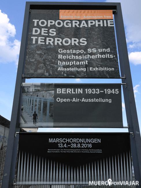 Topografía del terror - Berlín