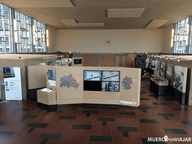 Exposición sobre la etapa de la guerra fría en Berlín
