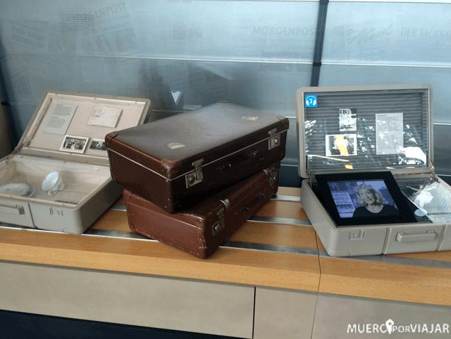 En la exposición hay objetos reales que se pueden contemplar
