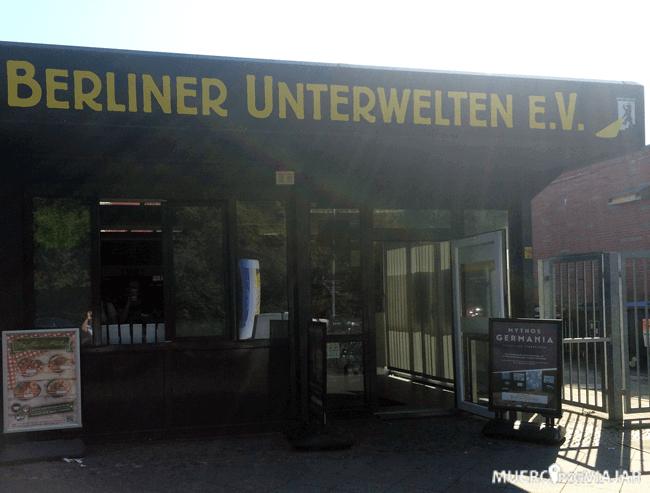 Entrada de Berliner Unterwelte en Berlín