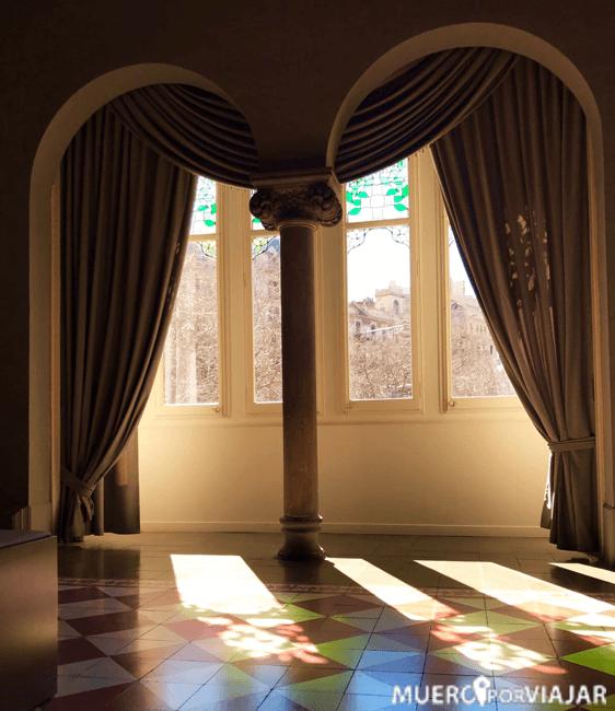 El interior de los pisos de La Casa de les Punxes