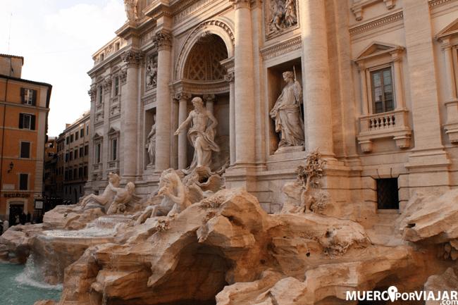 La Fontana di Trevi en Roma es un punto de visita obligado