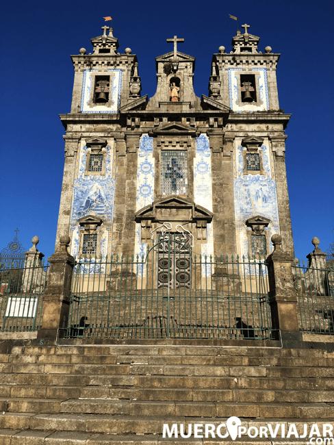 Fachada de la Iglesia de San Ildefonso