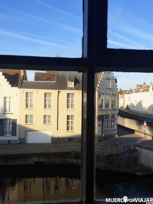 Vistas del canal desde la habitación