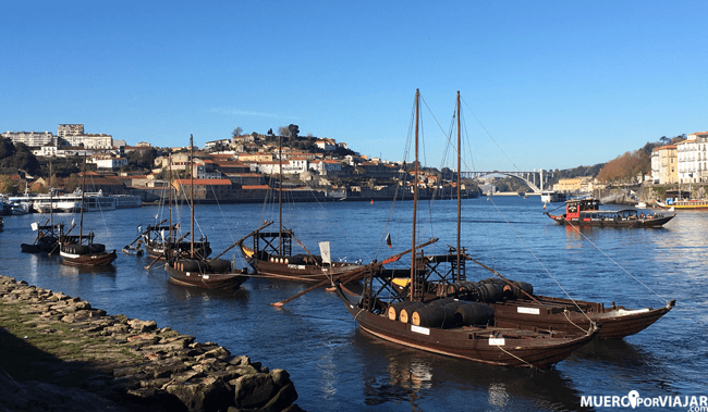Vila Nova de Gaia es un pueblo mayoritariamente pesquero