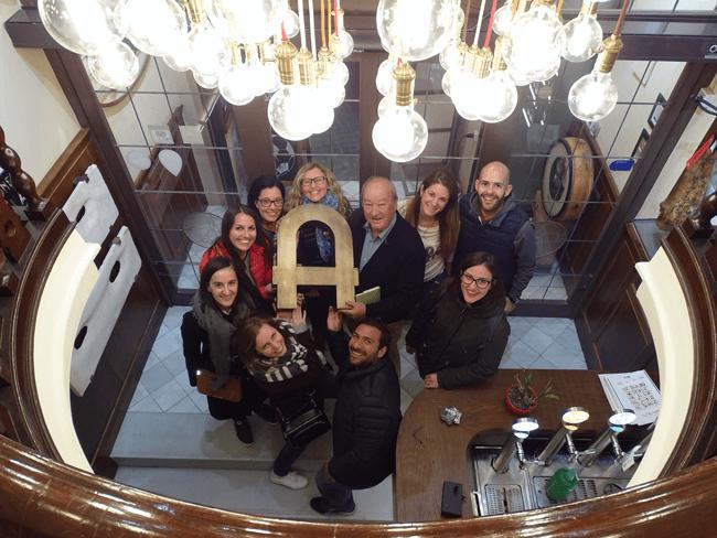 La visita al restaurante Amaya fue todo un descubrimiento, nos lo pasamos genial