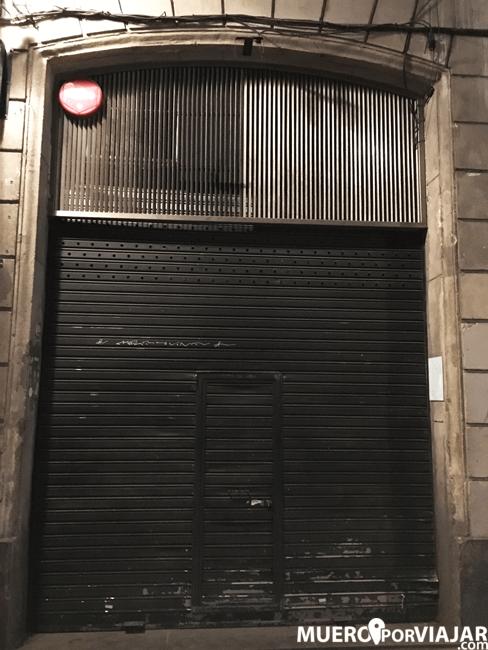 Actualmente el local se encuentra cerrado