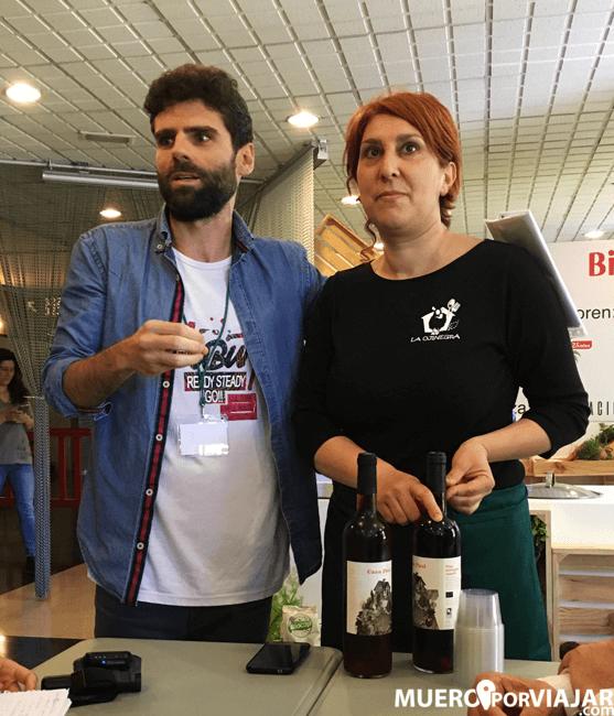 Belén la chef de La Ojinegra (Teruel)