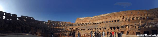 La visita al Coliseo es un imprescindible en tu visita a Roma