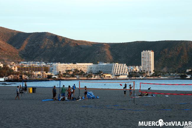 Las playas de Tenerife Sur