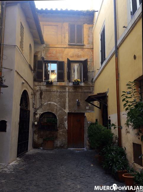 Barrio de Trastevere - Roma