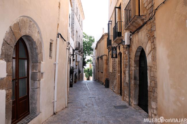 La zona del casco antiguo de Dalt Vila en Ibiza es muy bonita