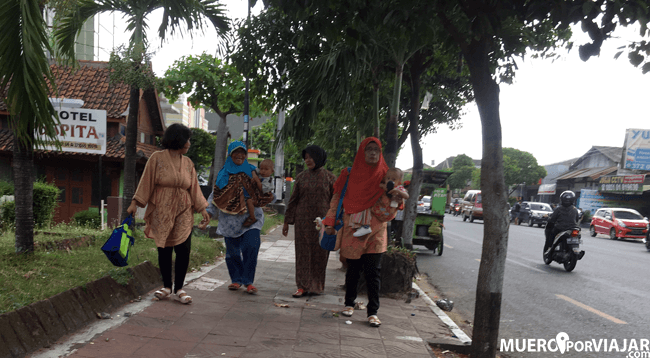 Las calles de Yogiakarta