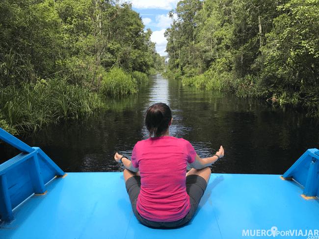 Una de las mejores partes del viaje es la paz que se respira