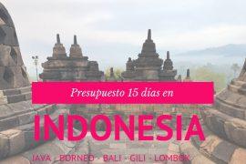 Presupuesto 15 días en Indonesia