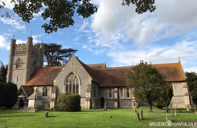 La preciosa iglesia con torre de Chipping Campden