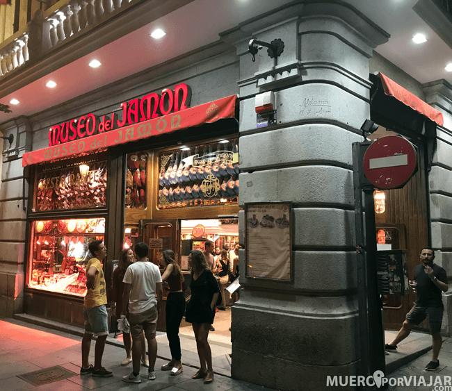 El Museo del Jamón, una visita obligada si pasas por Madrid