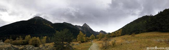 Paisajes preciosos en el Parc nacional d'Aigüestortes