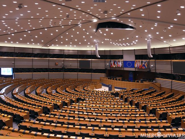 Parlamento Europeo - Bruselas, Bélgica