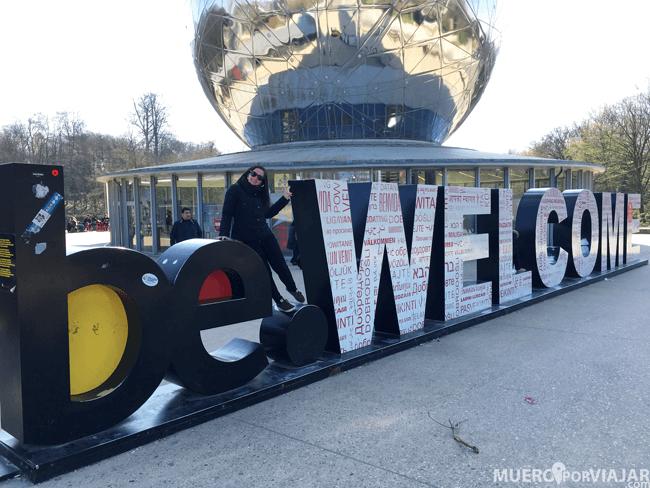 Atomium - Bruselas, Bélgica