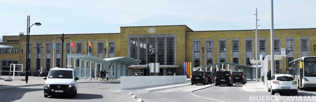 Estación de tren en Brujas
